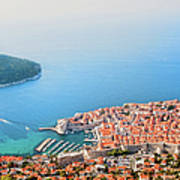 Dubrovnik Aerial View Poster