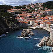 Dubrovnik By The Sea Poster