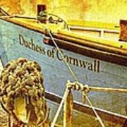 Duchess Of Cornwall Poster