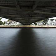 Duluth Lift Bridge Under 2 Poster