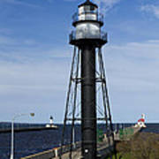 Duluth Lighthouses 1 Poster
