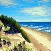 Dunes At Dalvay Poster