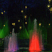 Dupont Gardens Singing Fountain Poster