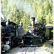 Durango Silverton Steam Locomotive Poster