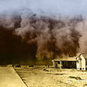 Dust Storm, 1930s Poster