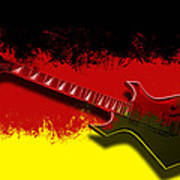 E-guitar - German Rock II Poster