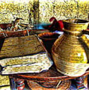 Early Colonial Still Life Poster