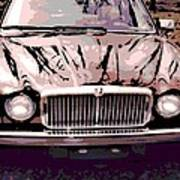 Early Jaguar Xj6 Poster