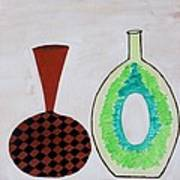 Earthen Decorative Pottery Poster