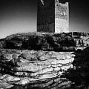 Easkey Roslee Roslea Castle County Sligo Ireland Poster