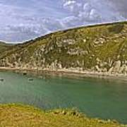 East Lulworth Cove Panorama Poster