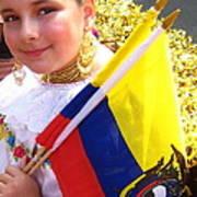Ecuadorian Pride Poster