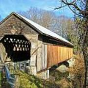 Edgell Covered Bridge Poster