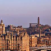Edinburgh Scotland - A Top-class European City Poster by Christine Till