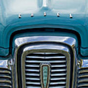 Edsel Corsair Grille Emblem Poster