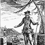 Edward Teach (?-1718) Poster by Granger