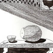 Egg Drawing 019613 Poster