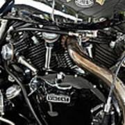 Egli-vincent Godet Motorcycle Poster