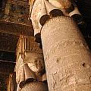 Egypt Temple Of Dendara Poster