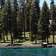 Ehrman Mansion Lake Tahoe Poster