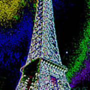 Eiffel Poster by David Alvarez