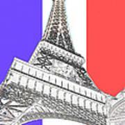 Eiffel De Gaul Poster