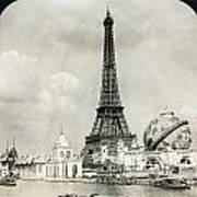 Eiffel Tower, 1900 Poster