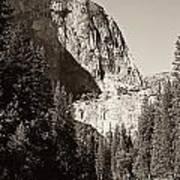 El Capitan Meets The River Poster