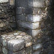 El Cuauhcalli Stonework Poster