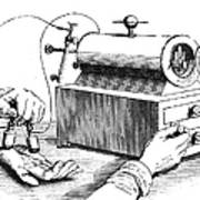 Electrical Device, 1876 Poster