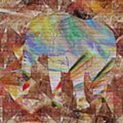 Elephant II Poster