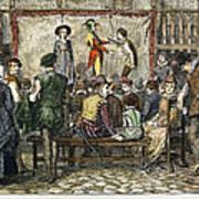 Elizabethan Theatre Poster