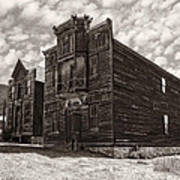 Elkhorn Ghost Town Public Halls 3 - Montana Poster
