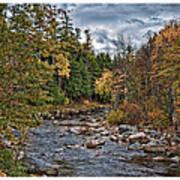 Ellis River Autumn Poster