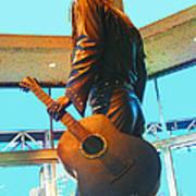 Elvis In Bronze At Memphis Poster