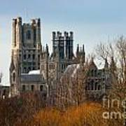 Ely Cathedral Scenic Poster
