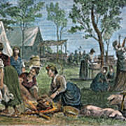Emigrants: Arkansas, 1874 Poster by Granger
