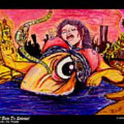 En El Bano De Soledad Poster