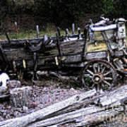 End Of The Trail Oregon Conestoga Wagon  Poster