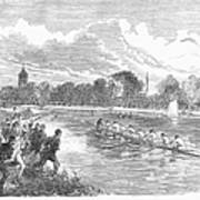 England: Boat Race, 1866 Poster