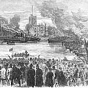 England: Boat Race, 1869 Poster