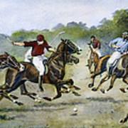 England: Polo, 1902 Poster