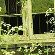 English Countryside Window Poster
