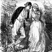 English Couple, C1870 Poster