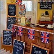 English Tearoom Poster