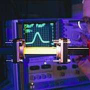 Equipment For Superluminal Microwaves Poster by Volker Steger