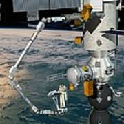 Era Robotic Arm Of The Iss, Artwork Poster