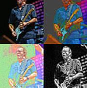 Eric Clapton Pop Poster