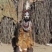 Ethiopia-south Tribesman No.2 Poster