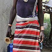 Ethiopia-south Tribesman No.3 Poster